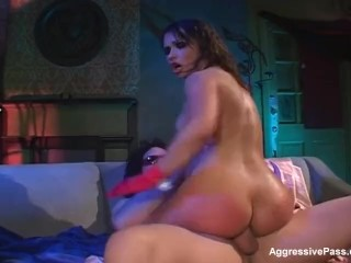 Katja'a ass invasion! Some fine buttfucking!