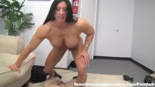 Muscle salvagno fucking angela bodybuilder eating