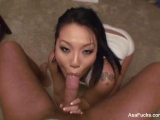 Asa Akira's POV Blowjob