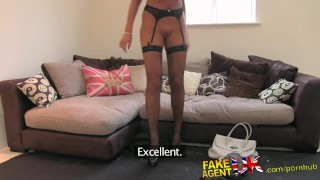 FakeAgentUK Tall secretary chick with incredible tits proves too much for  homemade british amazon fakeagentuk audition blowjob casting hardcore office secretary fingering interview doggystyle facial