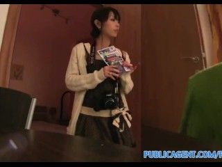 Preview 3 of PublicAgent Tiny Japanese pussy filled with big cock