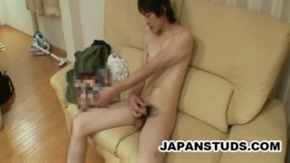 Kazushi Tazawa - SKinny Japan Stud Cock Wanking porno