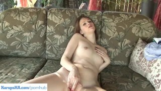 Pussy on redhead patio fingering angie tyler public natural