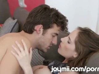Joymii young nymph avril hall has quick affair in romantic s 5