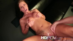 HD POV Big natural tits cums on your cock