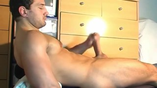 Why are you getting to wank my huge cock? I'm a straight guy !