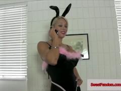 Sweet Fem Dom Bunny Costume Compilation COSPLAY PLAYBOY BUNNY