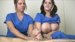 Nurses Extract A Huge Cumshot