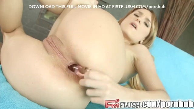 Penis being inserted into a vagina Leyla inserts a fist into her ass and pussy at the same time