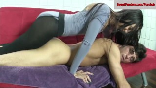 Jessica Robbin + Ashley Fires + Roxanne Rae + More Fucking a dude w Strapon  ass fuck sweetfemdom.com ass fucking pegging tied strapon femdom blowjob fishnets hardcore pantyhose kinky deepthroat threesome bondage girls fucking guys