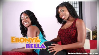Black Babe Introduced To The World Of Hot Lesbian Sex