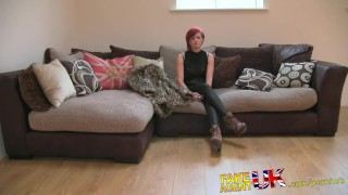 Orgasms strapped cash milf gives multiple fakeagentuk petite casting british