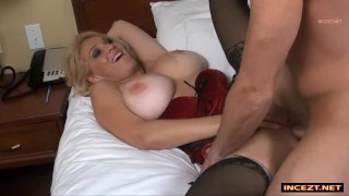 Brithday son stepmom his fucks for mom step