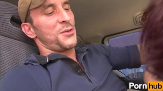 Pervers scene  taxi volume sex outdoors