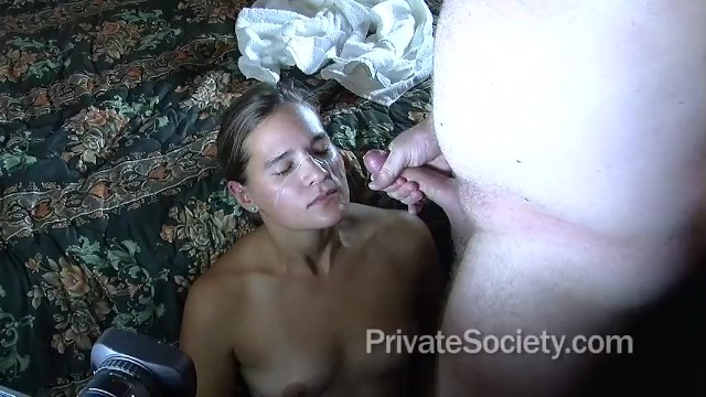 Blonde Girl Massive Cock
