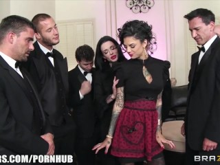Preview 4 of Veronica & Bonnie - The Secret of the Six Man Gangbang - Brazzers