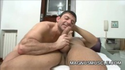 Juan And Aaron - Latino Muscle Guys Anal Fuck Time
