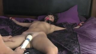 Ava Dalush Bondage Orgasms in Bed