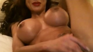 Hot big boobs playing on cam