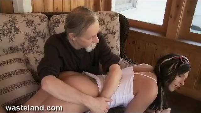 Diapers spanked over knee mom Dungeon bdsm sex master spanks pretty gal over knee and paddles with spoon