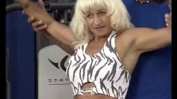 sexy muscle mom needs a hard fuck