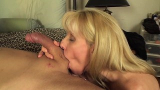 A Blow Job and Facial Compliation Video Teaser, All With My Fans! :)