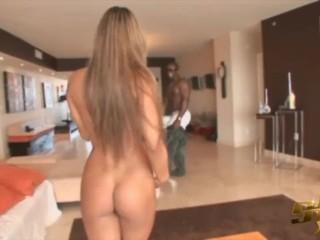 Preview 1 of Latina Pornstar Esperanza Gomez Fucks BBC Justin Slayer
