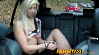 Cock over thick pussy faketaxi big dripping amateur boobs