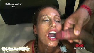 Big nympho hot pleasuring brunette bombshell our cocks blonde and facials cum