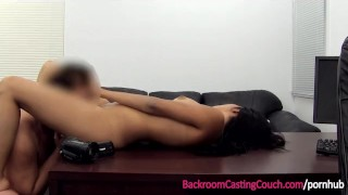 Married Indian Teen Assfucked on Casting Couch porno