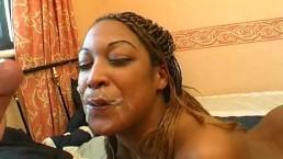 British ebony anal fucked in house party gangbang