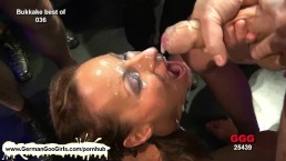 Stunning brunette lady gets pussy pounded and jizz soaked