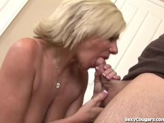 Big Titty MILF Reamed Until She Can Barely Walk