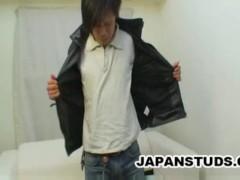 Naohisa Kikuchi - Grunge Looking Japanese Stud Caught Masturbating