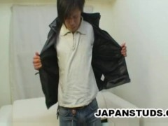 Naohisa Kikuchi - Grunge Looking Japanese Stud Caught Masturbating