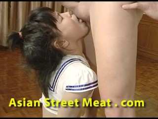 Asian Teeny Self Excited Cock Worship