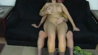 Hot grilfriend gets very special care