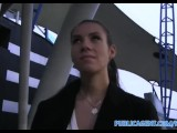 PublicAgent I cum over her tits in an abandoned garage