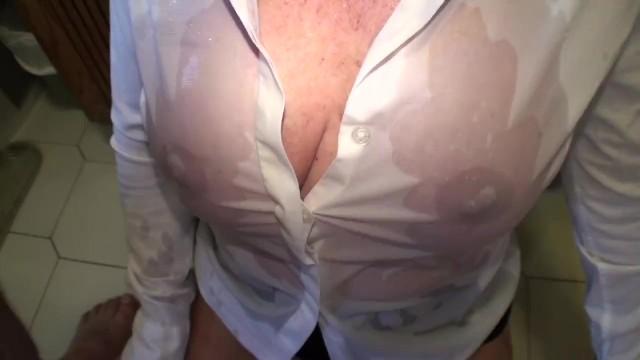 Carol cox original amateur Desperation pee, by me and on me