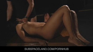 Voluptuous brunette Betina DiCapri used and played