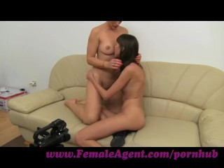 FemaleAgent. MILF and her incredible orgasms