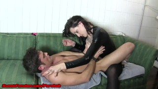 Femdom Strap On Chastity and CEI Compilation  strap on sweetfemdom.com ass pegging raven chastity femdom sexy cumshot fetish kinky swallow anal orgasm cum eating pussy eating