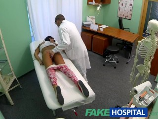 Sex Purn Tube FakeHospital Young teen girl not on birth control bends over for doctors cr