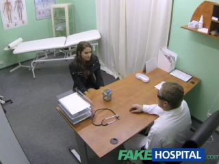 Strong Women Porn Tubes FakeHospital Hot girl with big tits gets doctors treatment