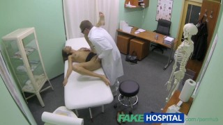 FakeHospital Hot girl with big tits gets doctors treatment