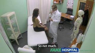 With doctors hot gets tits girl big treatment fakehospital view spying
