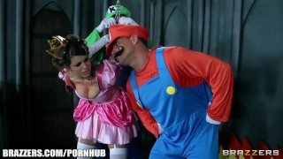 Mario and luigi parody double stuff - Brazzers porno