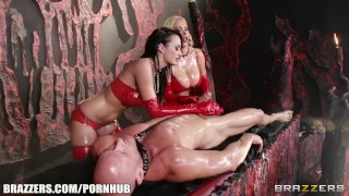 Brazzers - Best Hell ever, latex love ukrainian ass choke babes raven femdom brazzers-com blowjob kinky mff latex hidden-brazzers-7743 deepthroat oil big-tits fake-tits big-dick girlongirl massage leash