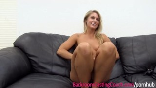 Couch fit the luvs casting babe on anal ass sexy