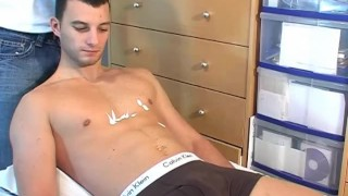 A sexy romain by cock str a wanked  get guy guy huge french his very huge guy